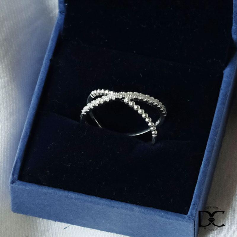 Nhẫn cặp Ahashop từ bạc 925 tinh tế, sang trọng